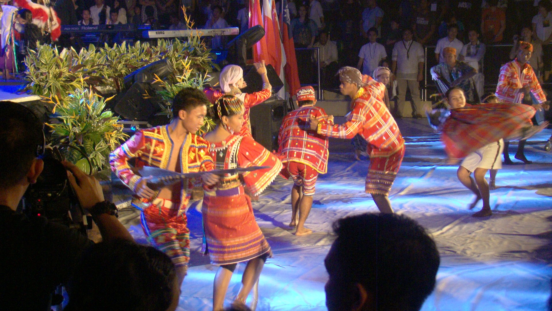 The Indigenous tribes and their graceful dancing.